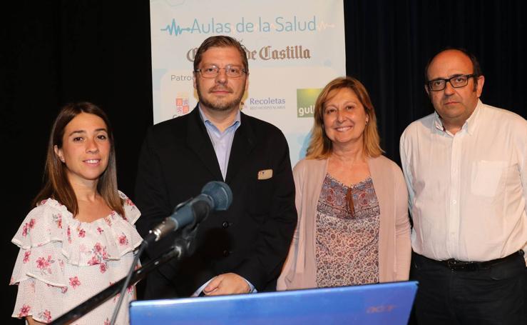 El doctor Zurita Prada, en las Aulas de la Salud de El Norte de Castilla