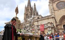 El Corpus Christi deslumbra en Burgos