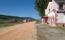 Finalizan las obras del tramo del Camino Natural Santander-Mediterráneo en Hontoria del Pinar