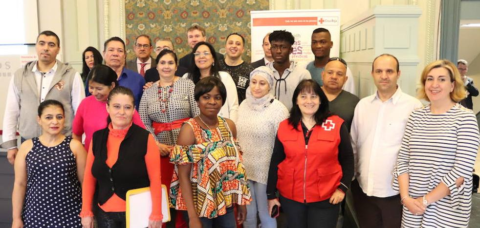 Fin de curso para los alumnos del programa Plan de Empleo de Cruz Roja