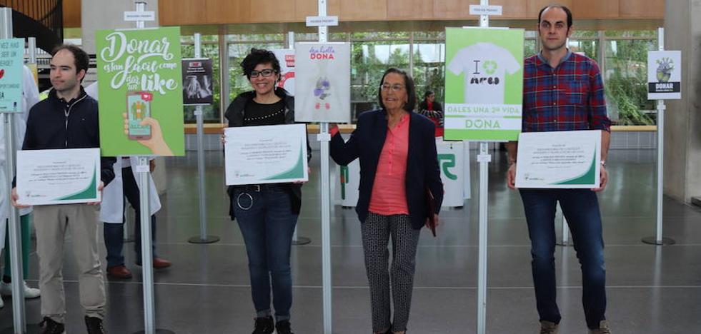 Alcer premia los mejores carteles para difundir la importancia de donar órganos