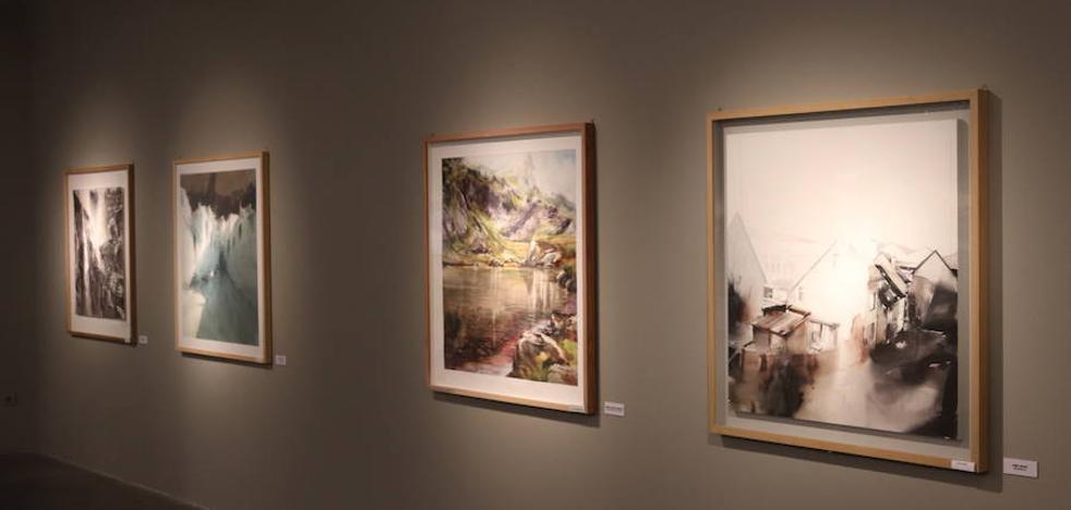 Llega la exposición '50m2   Bienal de acuarela. Villa de Noja' a la sala Pedro Torrecilla