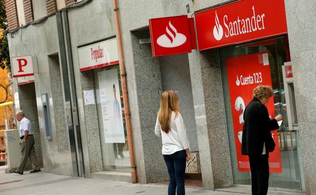 Santander prepara otra reducci n de plantilla y oficinas for Oficinas banco santander en gijon