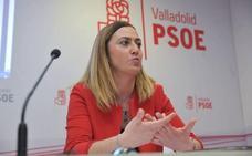 Virginia Barcones: «Estoy a disposición de Pedro Sánchez y de Luis Tudanca»
