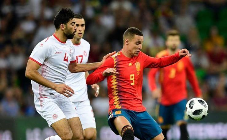 Las mejores imágenes del España-Túnez