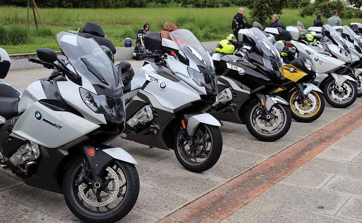 Las motos de la N-623 ya están en ruta