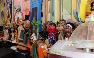 'El Papamoscas' sigue atrapando a los peques con el teatro de títeres de Karraskedo