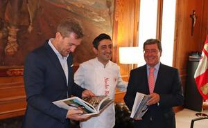 Nacho Rojo presenta su primer libro 'Cocinando en los bosques de la Demanda'