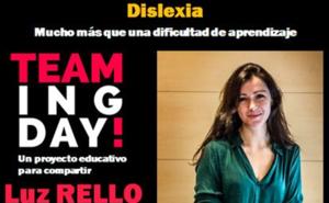 El proyecto educativo Teaming Day! presenta el jueves a Luz Rello