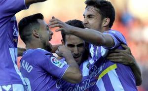 El Real Valladolid acaricia el ascenso