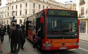El número de viajes en autobús urbano en mayo aumenta un 3,66%