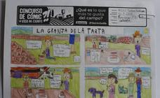 Trabajos de 5º de Primaria en la modalidad de cómic del II Concurso de Dibujo y Cómic 'La vida del campo'