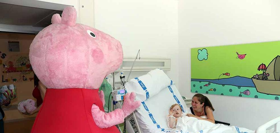Peppa Pig visita el HUBU