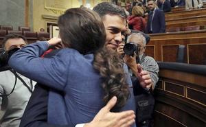 Sánchez recibió el jueves a Iglesias en la Moncloa