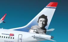 El eterno Félix Rodríguez de la Fuente volará en dos aviones de Norwegian