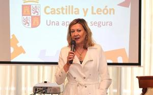 Del Olmo afirma en Madrid que «Castilla y León es una apuesta segura» para invertir