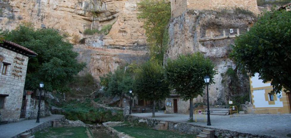 Cs pide mejorar las infraestructuras en los entornos de Orbaneja del Castillo