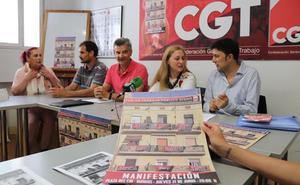 CGT llama a manifestarse para defender un trabajo público «digno»