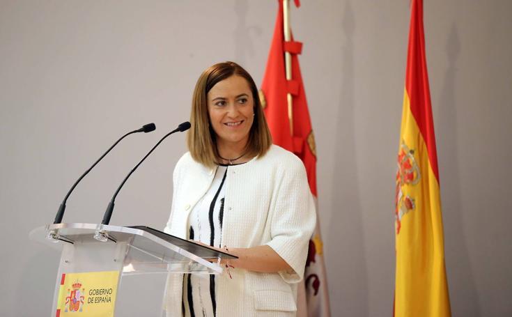 Virginia Barcones toma posesión como nueva delegada del Gobierno en Castilla y León