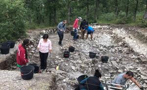 Este lunes arranca una nueva campaña de excavación arqueológica en Treviño