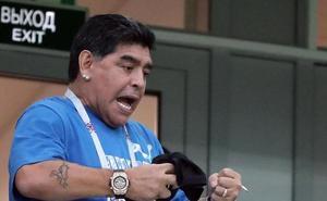 Maradona: «No pretendamos que Messi gane el Mundial él solo»