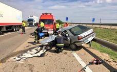 El conductor que falleció en el accidente de Medina circuló 1,5 kilómetros en sentido contrario por la A-6