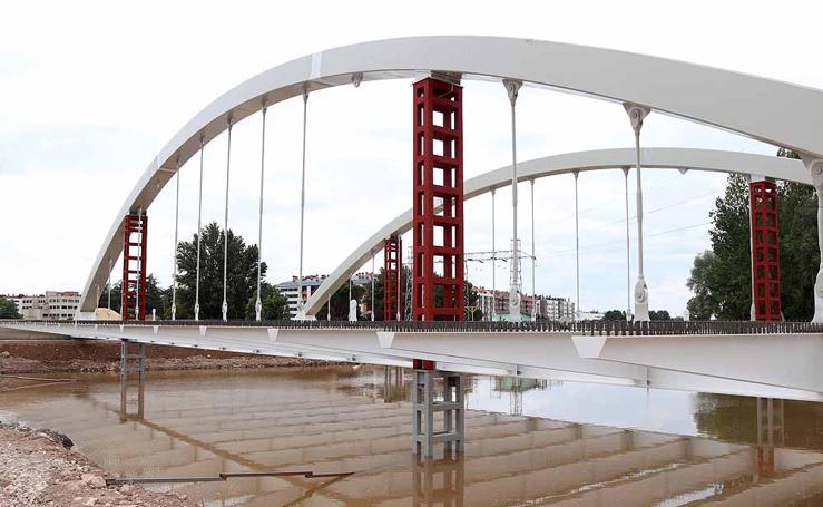 El puente de la Universidad avanza a buen ritmo