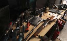 Detenidos tres hombres por robos de herramientas en Burgos, Soria y La Rioja