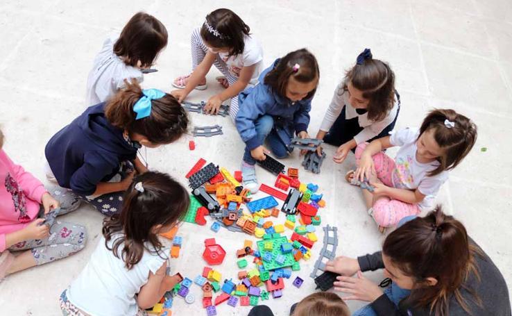 Así han trabajado los niños en los talleres de Robotix