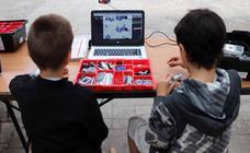 Robots de Lego que cobran vida de la mano de 80 niños