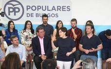 Los afiliados al PP en Burgos se decantan por la candidatura de Soraya Sáenz de Santamaría