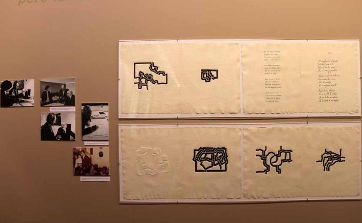 Adelanto en imágenes de la exposición 'Más allá. Libros de artista de Eduardo Chillida'