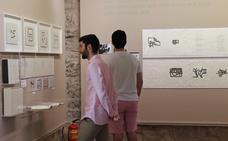 Una exposición muestra en Burgos la faceta más desconocida de Eduardo Chillida