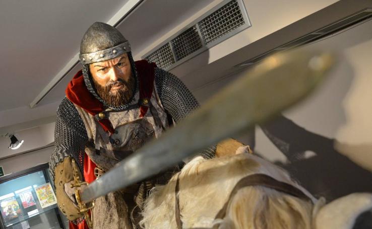 Nueva escultura ndel Cid en el Museo del Cid
