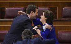 Santamaría, y no Casado, rentabilizó la debacle de Cospedal en Castilla y León