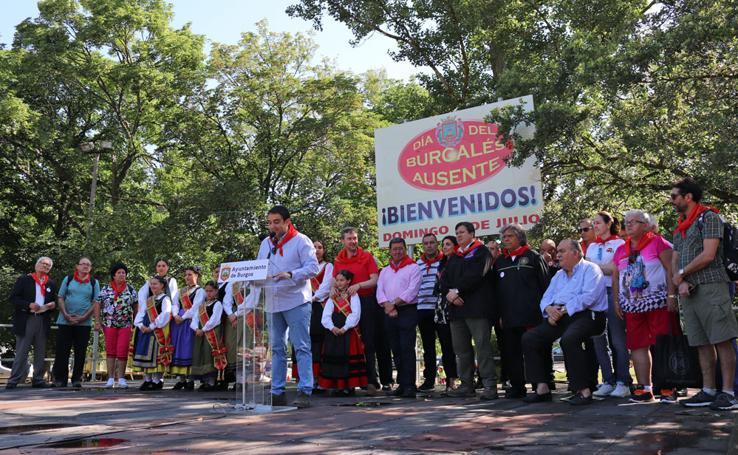 Burgos cierra sus Sampedros con el Día del Burgalés Ausente en Fuentes Blancas