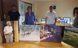 Ana Sánchez Lucas, ganadora del XXXI Concurso Nacional de Pintura 'Ciudad de Frías'