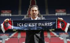 Buffon: «Aterrizo en París con el entusiasmo de un chaval»