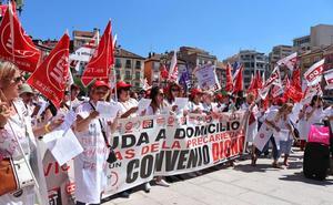 Huelga de las trabajadoras del Servicio de Ayuda a Domicilio ante un convenio «indigno»