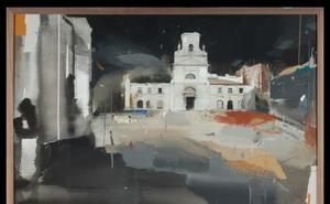 Jaime Jurado, ganador del Concurso AXA de Pintura Catedral de Burgos
