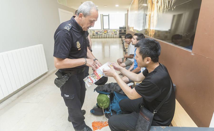 La Policía Nacional trabaja para que Burgos sea una ciudad turística más segura