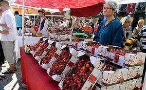 Covarrubias regresa este fin de semana al medievo con la Fiesta y Mercado de la Cereza