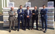 El Banco de Alimentos de Burgos recibe 3.000 litros de leche