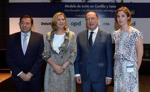 Del Olmo destaca la fortaleza de la industria dentro del PIB autonómico