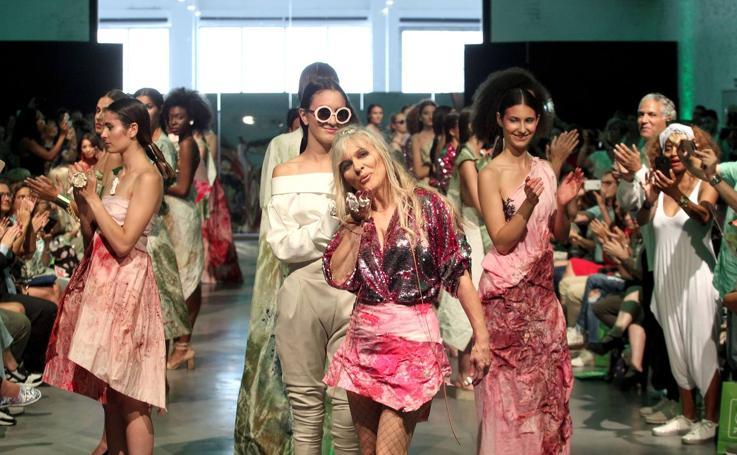 Desfile de María Lafuente en la Semana de la Moda de Madrid