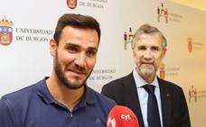 Saúl Craviotto transmite en Burgos «esfuerzo y sacrificio para conseguir los retos»