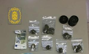 La Policía Local interviene marihuana en el parque Félix Rodríguez de la Fuente