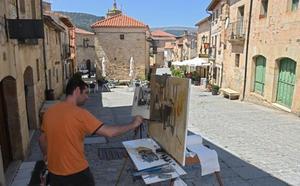 José María Díaz gana la cuarta edición del Concurso Silos de Pintura Rápida