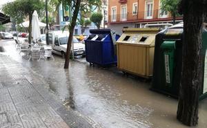 Se eleva a naranja el aviso por lluvias y tormentas en Treviño y norte Burgos