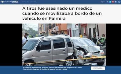 Asesinan en Colombia a un antiguo médico adjunto del Hospital de Segovia